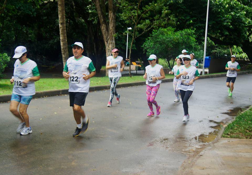 Corrida no Parque reuniu atletas aposentados