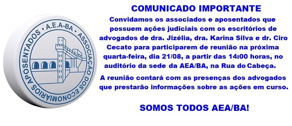Reunião Sobre Ações Judiciais