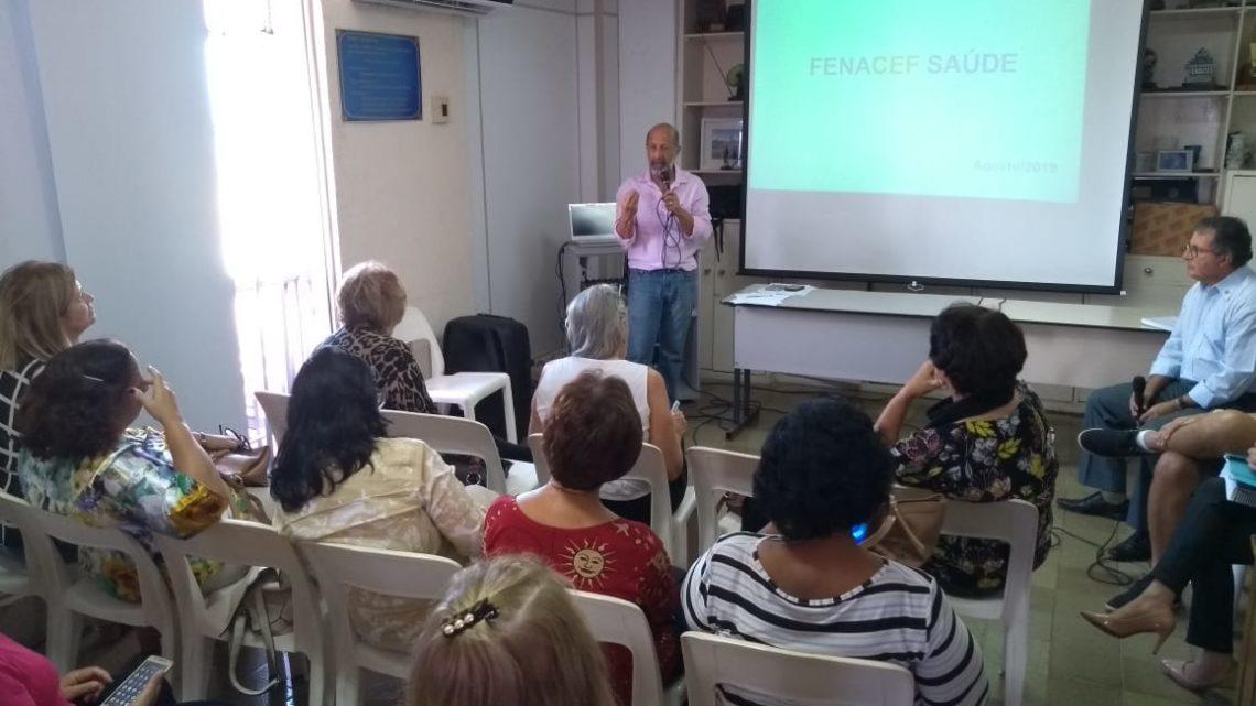 Grupo de trabalho formado para buscar plano alternativo ao FENACEF Saúde